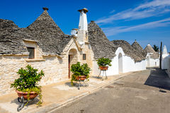 Alberobello, Puglia, Italy Stock Photography