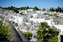 Alberobello's trulli, Apulia, Italy Stock Images