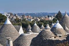 Alberobello's Trulli. Puglia. Italy. Royalty Free Stock Images