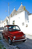 Alberobello's Trulli. Puglia. Italy. Royalty Free Stock Photography