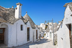 Alberobello's Trulli. Puglia. Italy. Royalty Free Stock Photography