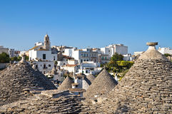 Alberobello's Trulli. Puglia. Italy. Stock Photo