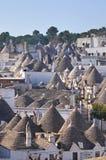 Alberobello's Trulli. Puglia. Włochy. Fotografia Royalty Free
