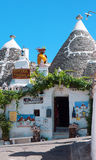 Alberobello, shops Royalty Free Stock Images