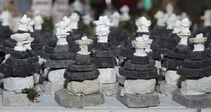 Alberobello - small models of trulli have a souvenir Stock Photography