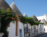 Alberobello Souvenir Shops, Italy Royalty Free Stock Photography