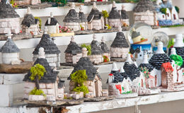 Alberobello souvenirs. Royalty Free Stock Photo
