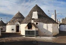 Alberobello town Stock Photography