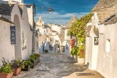 Alberobello Trulli, Πούλια, Apulia, Ιταλία Στοκ εικόνες με δικαίωμα ελεύθερης χρήσης