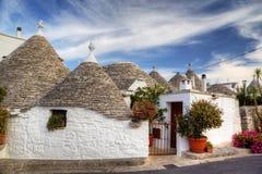 Alberobello Trulli。 免版税图库摄影