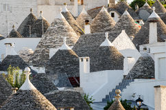 Alberobello, trulli Stock Images