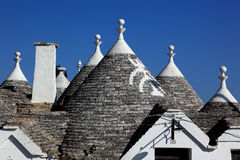 Alberobello. Trulli houses in Alberobello, Apulia, Italy Europe Stock Photos
