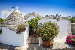Free Alberobello Trulli Italy Village Royalty Free Stock Images - 28588779