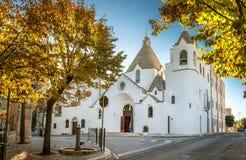 Alberobello Trulli, Puglia, Apulia, Italia Imágenes de archivo libres de regalías
