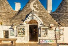 Alberobello Trulli, Puglia, Apulien, Italien Stockfotos