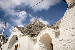 Alberobello-trullo Stockbild