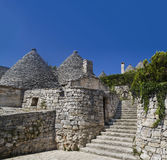 Alberobello trullo Stock Images