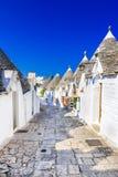 Alberobello, Puglia, Italy - Trullo house stock images