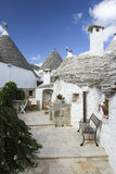 Alberobello. View of the ancient town of Alberobello, Puglia, Italy Royalty Free Stock Photo