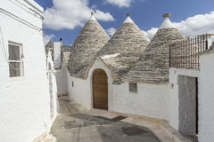 Alberobello. View of the ancient town of Alberobello, Puglia, Italy Royalty Free Stock Photography