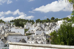 Alberobello. View of the ancient town of Alberobello, Puglia, Italy Stock Photography