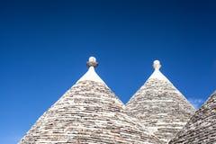 Alberobello Włochy Obraz Stock