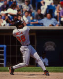 Albert Belle Baltimore Orioles Stock Image