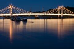 Albert-Brücke Stockfotos