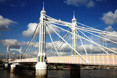 Albert Bridge Fotografia de Stock Royalty Free