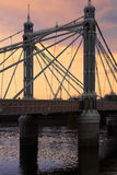 Albert bridge Stock Images