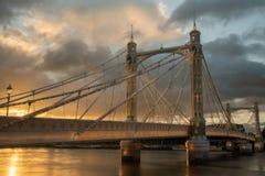 Albert Bridge Imagenes de archivo