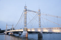 Albert Bridge; Chelsea; London Royalty Free Stock Photos