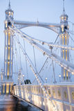 Albert Bridge; Chelsea; London Stock Photography