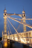 Albert Bridge; Chelsea; London Royalty Free Stock Image