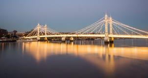Albert Bridge royalty free stock images