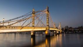 Albert Bridge stock image
