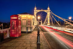 Albert bridge Stock Photos