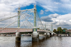 Albert Bridge in  London Royalty Free Stock Images