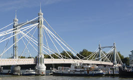 Albert Bridge, Londres, Angleterre photo libre de droits
