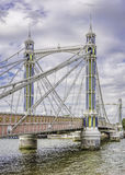 Albert Bridge Stock Photo