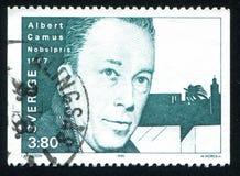 Albert Camus immagini stock libere da diritti