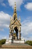 Albert-Denkmal, Kensington, London Lizenzfreie Stockfotos