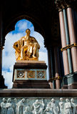 Albert-Denkmal, Kensington, London Stockbilder