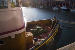 Albert Dock é um complexo de construções e de armazéns da doca em Liverpool, Inglaterra Imagem de Stock