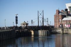 Albert Dock é um complexo de construções e de armazéns da doca em Liverpool, Inglaterra Imagens de Stock