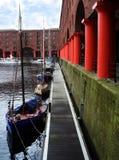 Albert-Dock lizenzfreie stockfotos