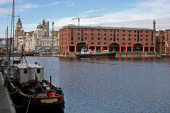 Albert dock Royalty Free Stock Images