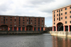 Albert Dock Basin. In Liverpool England stock photos