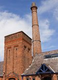 Albert Dock chimney. The Albert Dock in Liverpool, UK Stock Photography