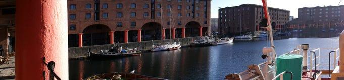 The Albert Dock in Liverpool Merseyside England Royalty Free Stock Photo